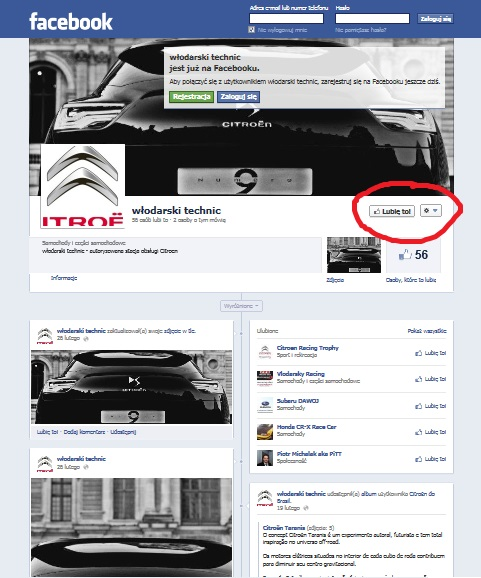 facebook citroen włodarski technic